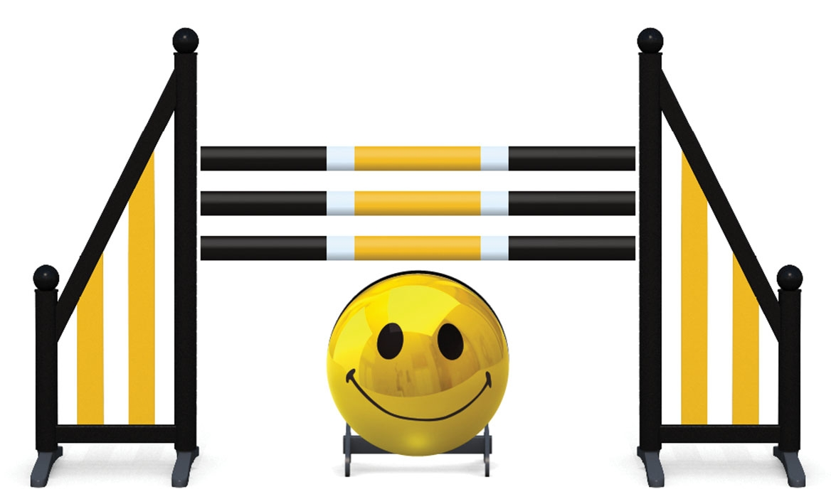 Obstacle complet Smiley